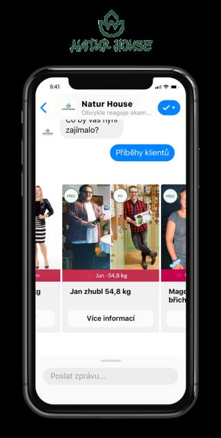 Chatbot podporující objednání se na konzultaci ke zlepšení životního stylu